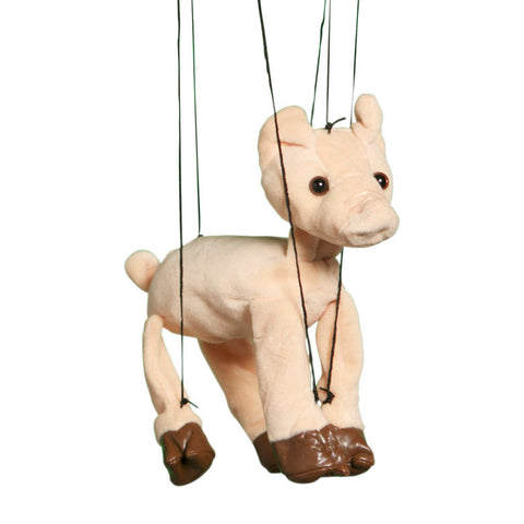 "8"" Pig Marionette Small"