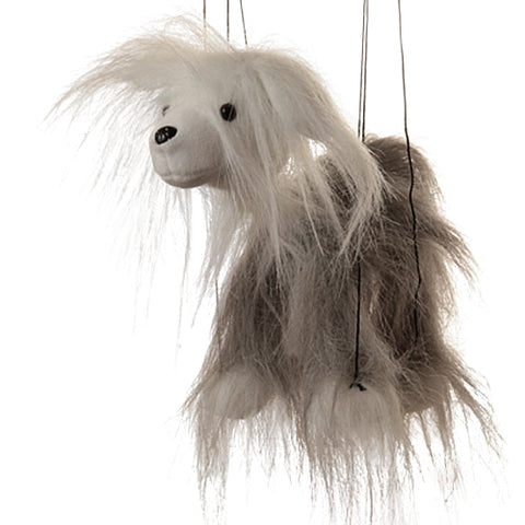 "8"" Sheepdog Marionette Small"