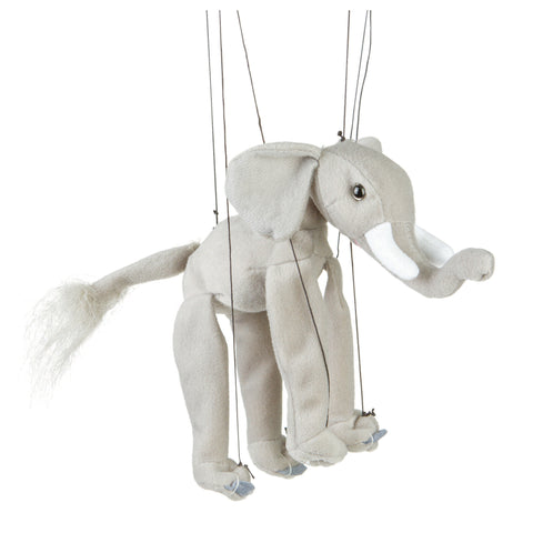 "8"" Elephant Marionette Small"