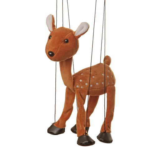 "8"" Deer Marionette Small"