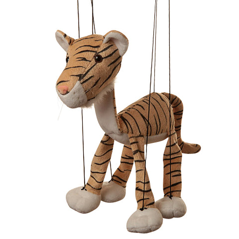 "8"" Tiger Marionette Small"