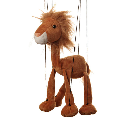 "8"" Lion Marionette Small"