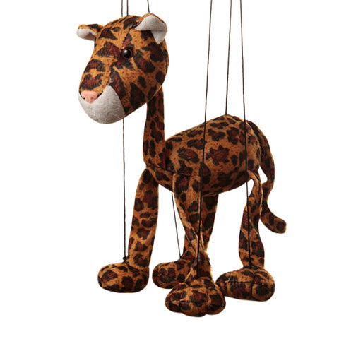 "8"" Leopard Marionette Small"