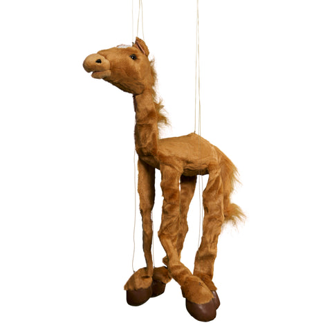 "8"" Brown Horse Marionette Small"