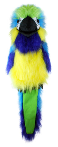 "18"" Blue & Gold Macaw Puppet"