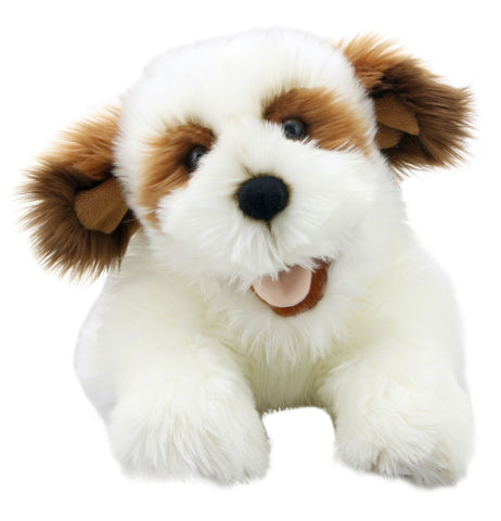 "20""Brown & White Puppet"