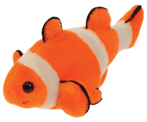 "6"" Clown Fish Finger Puppet"