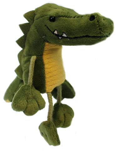 "6"" Crocodile Finger Puppet"