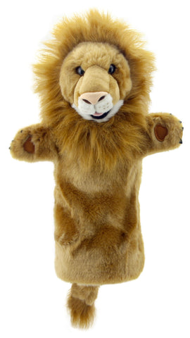 "15"" Lion Puppet (Long Sleeve)"