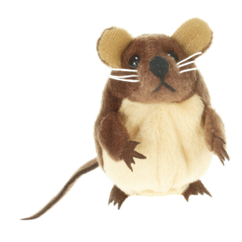 "6"" Mouse Brown Finger Puppet"