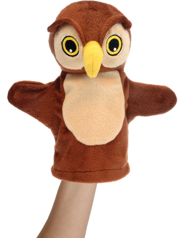 "8"" Owl - My First Puppet"