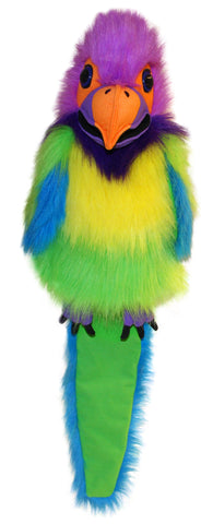 "18"" Plum-Headed Parakeet Puppet"