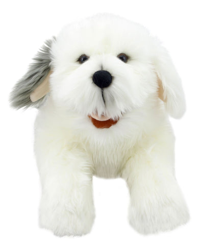 "20"" Old English Sheepdog Puppet"