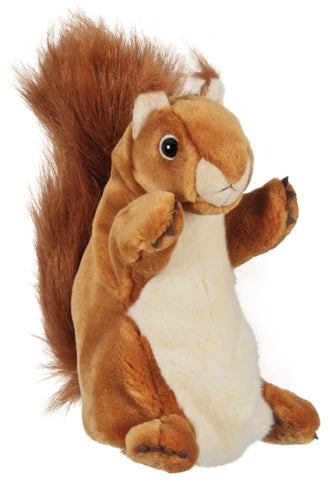 "15"" Squirrel Brown Puppet (Long Sleeve)"