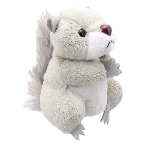"6"" Squirrel Grey Finger Puppet"