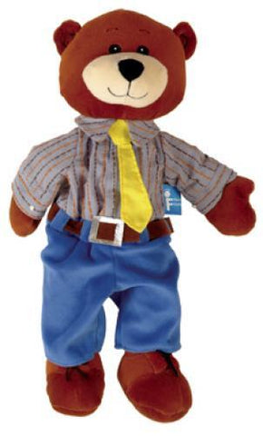 The Original Toy Company Daddy Bear Hand Puppet - Peazz Toys