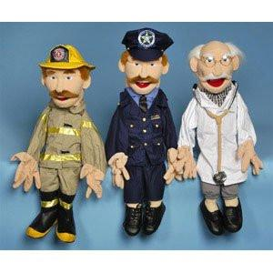 Sunny & Co Toys GS2701 Sunny Toys GS2701 28 In. Two-Handed Dr.Moody, Sculpted Face Puppet - Peazz Toys