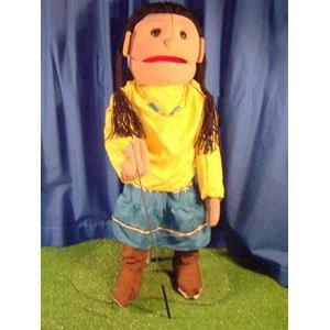 Sunny Toys GS4597 28 In. American Indian Girl - Peazz Toys