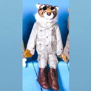 "Sunny & Co Toys GS4809 28"" Tiger in safari outfit - Peazz Toys"