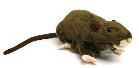 "Sunny & Co Toys NP8229B Brown Rat Puppet 13"" by Sunny and Co - Peazz Toys"