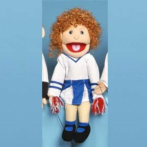 "Sunny & Co Toys SS2201 Sunny Toy Puppet 24"" Girl/cheer leader - Peazz Toys"