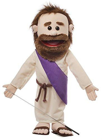"Silly Puppets SP2161 25"" Jesus w/ Rope Belt - Peazz Toys"