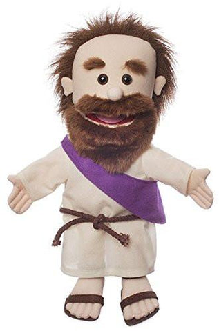 "Silly Puppets SP3161 14"" Jesus w/ Rope Belt - Peazz Toys"