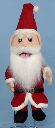 "14"" Santa Clause Glove Puppet - Peazz Toys"