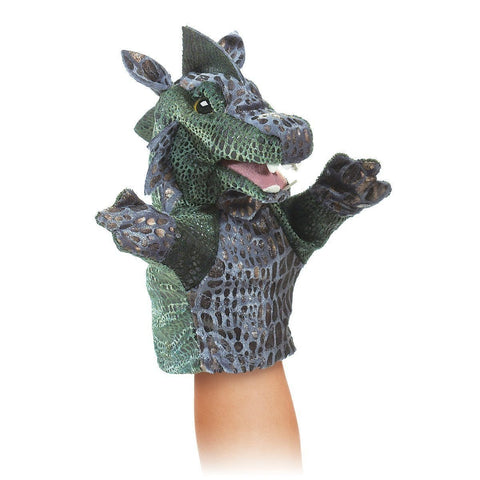 Folkmanis 2964 Little Dragon Hand Puppet - Puppethut