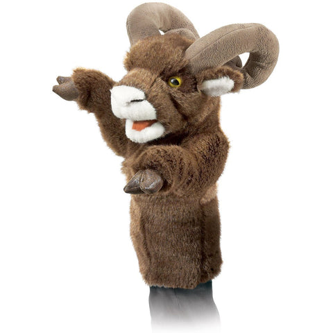 Folkmanis 2985 Bighorn Sheep Stage Puppet - Puppethut