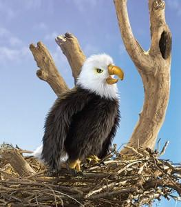 Folkmanis 2988 Eagle, Perched - Puppethut