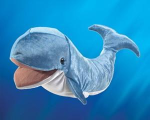 Folkmanis 3040 Whale - Puppethut