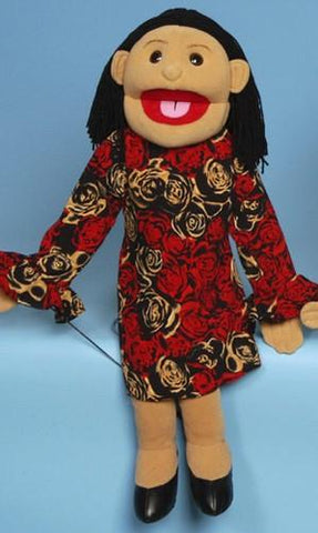 "28"" Hispanic Mom Puppet - Puppethut"
