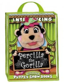 Lisa LeLeu W12344 Percilla The Gorilla Play Set with Puppet - Peazz Toys