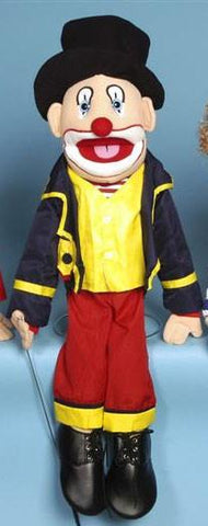 "28"" Clown w/ Hat Fully Body Puppet GS4903 - Puppethut"
