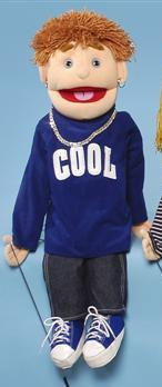 "28"" COOL Boy Puppet - Puppethut"