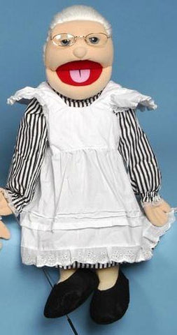 "28"" White Grandmother Full Body Puppet GS4201 - Puppethut"
