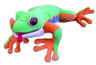 "Tree Frog 12"" Puppet - Peazz Toys"