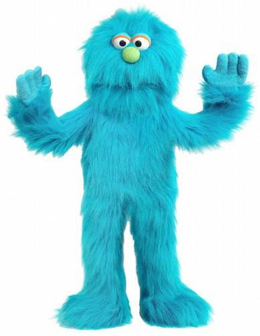 "30"" Monster Puppet Blue - Puppethut"