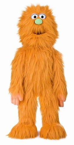 "30"" Monster Puppet Orange - Peazz Toys"