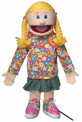 "25"" Cindy Puppet Peach - Peazz Toys"