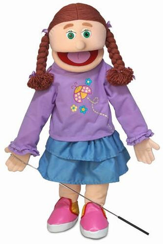 "25"" Amy Puppet Peach - Peazz Toys"
