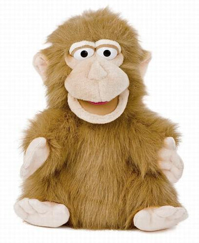 "12"" Silly Monkey Puppet - Puppethut"