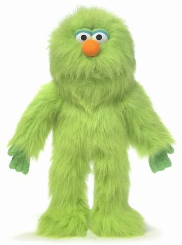 "14"" Monster Puppet Green - Peazz Toys"