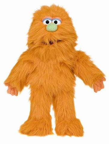"14"" Monster Puppet Orange - Puppethut"
