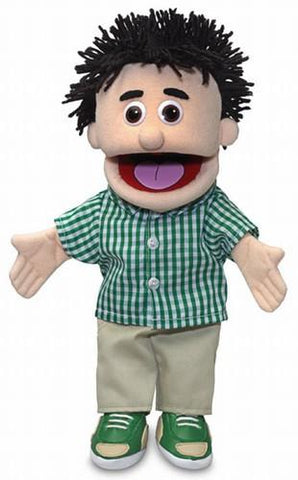 "14"" Kenny Puppet Peach - Peazz Toys"