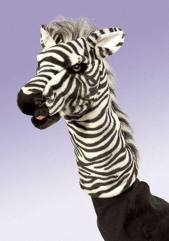 Folkmanis Zebra Stage Puppet Stage Puppet - 2565 - Peazz Toys
