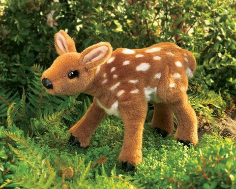 Folkmanis Fawn Hand Puppet - 2573 - Puppethut