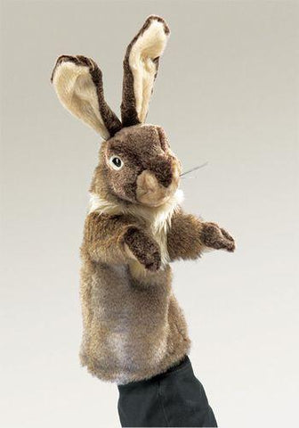 Folkmanis Rabbit Stage Puppet Stage Puppet - 2800 - Peazz Toys