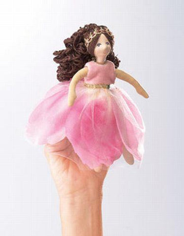 Folkmanis Princess, Flower Character Puppet - 2835 - Peazz Toys